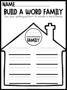 Word Work Stations For Every List