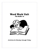 Word Work- Suffixes (er)