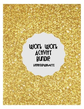 Word Work Task Cards - Activity Bundle
