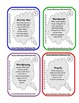 20 Word Work Task Cards - Set 1