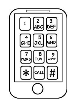 Word Work Texting Mat