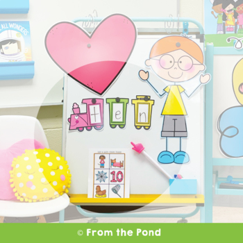 Sounding Out Words Train - Learning to Read and Make Words in Kindergarten