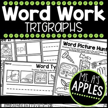 Word Work Trigraphs