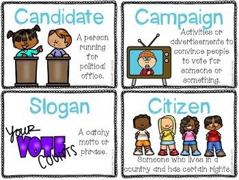 U.S. Elections Word Work