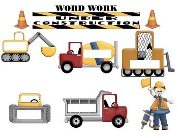 Word Work: Under Construction