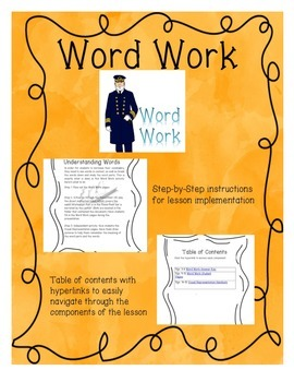 Word Work -Understanding words from The Titanic