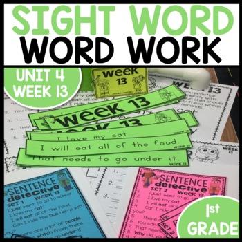 Word Work (Unit 4 Week 1)