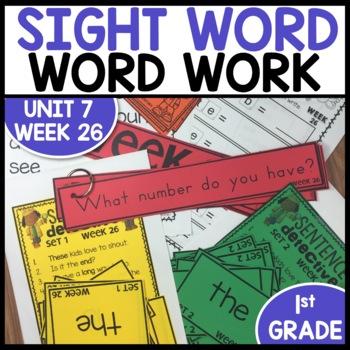 Word Work (Unit 7 Week 2)