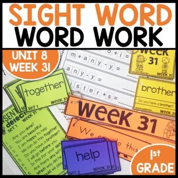 Word Work (Unit 8 Week 3)