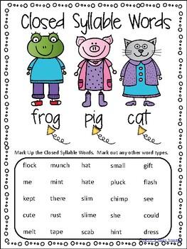Word Work - Unit 9 - Weeks 1 and 2
