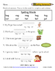 Word Study Unit 9: -ug / -ut