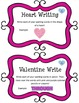Word Work Task Cards - VALENTINES DAY