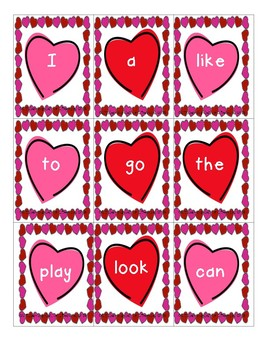 Word Work-Valentine's Day