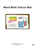 Word Work Velcro Mat