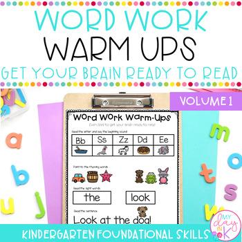 Word Work Warm Ups