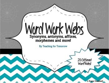 Word Work Webs