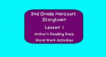Word Work, Week 1, Arthur's Reading Race