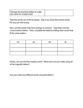 Word Work Week 3