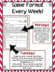 Word Work Weekly Activities for 2nd Grade