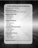 Word Work - Weekly Word Work Activity Journal - 1 month ac