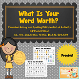 "Word Work- ""What Is Your Word Worth?"""