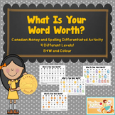 "Word Work-""What is Your Word Worth?"""