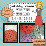 Word Work Wheels - Wheely Good! Literacy Centers 10 wheels