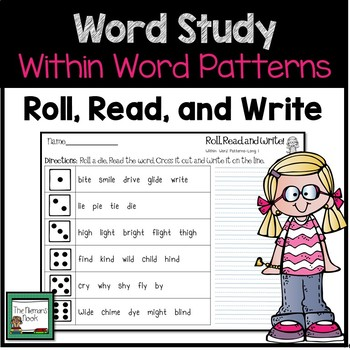 Word Work- Within Word Patterns Review and Practice