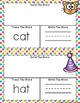 Word Work ~ Word Families ~ Build, Trace, Write ~ Magnetic