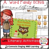Word Familes Song and Packet