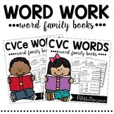 Word Work {Word Family Books Bundle}