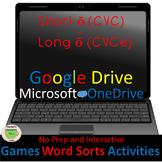 Word Work-Word Sorts Games & Activities—Short ŏ vs. Long ō-Google Drive