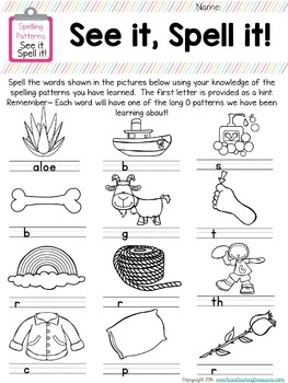 Word Work/ Word Study Centers Packet 4