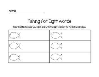 Word Work/ Work on Math Center
