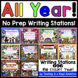 Writing Stations for the ENTIRE Year!  (THE BUNDLE)