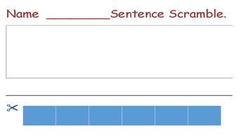 Word Work Worksheets