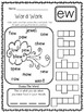 Word Work Worksheets - Phonograms/Chunks/Letter Combinations