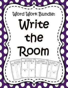 Word Work Bundle - Write the Room
