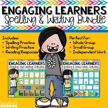 Word Work, Writing, and Reading Response Activities Bundle