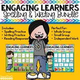 Spelling,  Writing, and Reading Response Activities Bundle