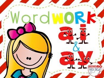 Word Work {ai and ay}