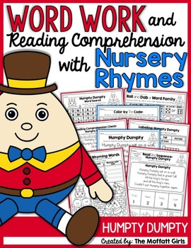 Word Work and Reading Comprehension with Nursery Rhymes: H