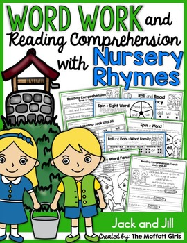 Word Work and Reading Comprehension with Nursery Rhymes: J