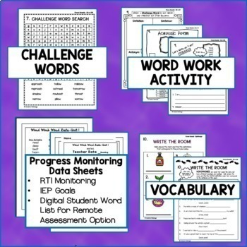 Phonics Word Work, Phonics Intervention, Reading Intervention, Long Vowels