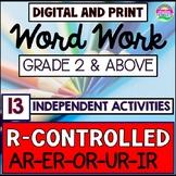 Reading Intervention Program, Phonics Intervention, R-Controlled
