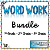 Word Work and Reading Passages Bundle with Digital Option