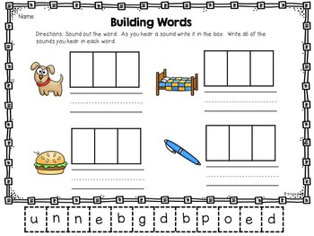 Word Work / Letter Sounds
