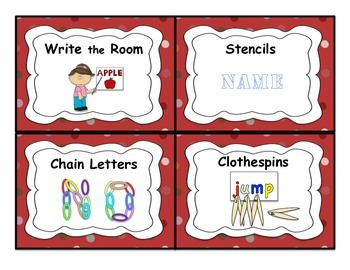 Word Work and Spelling Task Cards