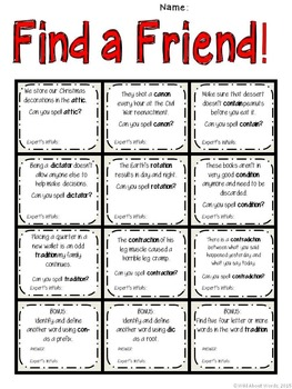 "Word Work and Vocabulary 5-Day Intermediate Unit ""CONTRADICTION"""