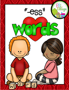 -ess Word Family